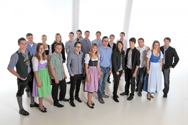 Gruppenfoto Junge Liste